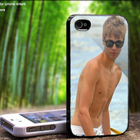 Justin Bieber in the Beach Case For iPhone Case, iPhone 4, Case, iPhone 4S, iPhone 5, Hard Cover