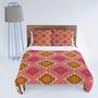 DENY Designs Home Accessories | Sharon Turner Tangerine Kilim Duvet Cover