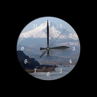 Columbia River Gorge Wall Clock from Zazzle.com
