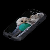 Sea Otters Samsung Galaxy SIII Cases from Zazzle.com
