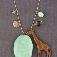 Giraffe Charm Necklace in Gold - $19.00 : Fashion Necklaces at LuLus.com
