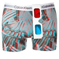 Calvin Klein 3D Trunks at ASOS
