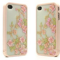 Disney Travel Travel Series of Case Iphone 4/4s Xmas Gift - Plum Flower:Amazon:Everything Else