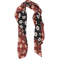 Bottega Veneta Floral Square Scarf at Barneys.com