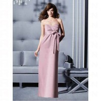 Sheath Sweetheart With Ruffle Detail Bridesmaid Dress 2801 - Wedding Party Dresses - Apparel
