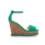 CORK WEDGE WITH ANKLE STRAP - Wedges - Shoes - Woman - ZARA United States