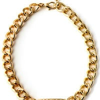 Accessories Boutique Necklace Fuck Chain in Gold