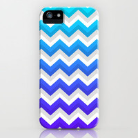 Chevrons V iPhone & iPod Case by Rain Carnival