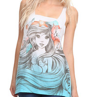 Disney The Little Mermaid Ariel Sketch Tank Top | Hot Topic