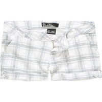 YMI Tab Plaid Womens Shorts 160365991 | Shorts | Tillys.com