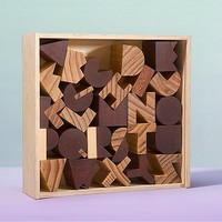 Alphabet Blocks by Areaware