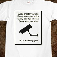 I'LL BE WATCHING YOU - Shameless Behavior - Skreened T-shirts, Organic Shirts, Hoodies, Kids Tees, Baby One-Pieces and Tote Bags
