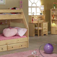 Lowell Twin over Full Bunk Bed