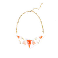 Plastic Triangles Necklace - 2020AVE