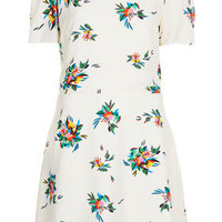 Tattoo Floral Teadress - Dresses  - Clothing