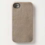Anthropologie - Metallic Leather 4 & 4S iPhone Case