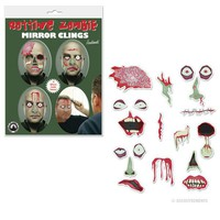 Rotting Zombie Mirror Clings - Whimsical & Unique Gift Ideas for the Coolest Gift Givers