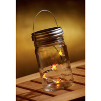 Lighted Fireflies In A Jar | Home Living | SkyMall