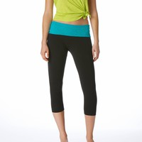 Aerie Slim Gym Yoga Lace Skinny Crop Pant | Aerie for American Eagle