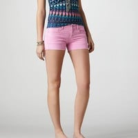 AE Frayed Cord Midi Short | American Eagle Outfitters