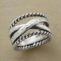 STERLING LARIAT RING         -                  Band         -                  Rings         -                  Jewelry                       | Robert Redford's Sundance Catalog