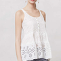 Anthropologie - Paneled Eyelet Tunic