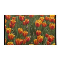 Orange Tulips iPad Case from Zazzle.com
