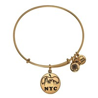 Alex and Ani NYC Skyline Charm Bangle - Russian Gold