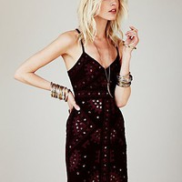 Free People Black Magic Mirror Bodycon