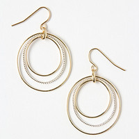 Graduated Halo Earrings