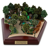 Disneyland King Triton's Garden and Snow White Grotto Miniature by Olszewski | Disney Store