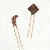 Free People  2 Bun Picks at Free People Clothing Boutique