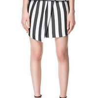 SARONG STYLE STRIPED SKIRT - Skirts - Woman - ZARA United States