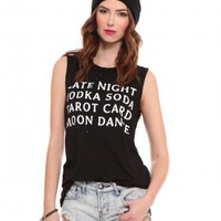 Late Night Muscle Tank - Tops - Clothes | GYPSY WARRIOR