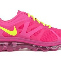 Nike Air Max+ 2012 (GS) Girls Running Shoes 488124-601:Amazon:Shoes