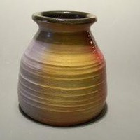 Multicolored Vase by Mochaware on Etsy