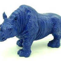 6 Inch Blue Rhinoceros For Burglary Protection