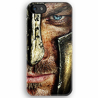 SPARTACUS Blue eyes Gladiator Face Photograph apple iphone 5, iphone 4 4s, iPhone 3Gs, iPod Touch 4g case
