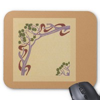 Art Nouveau Mouse Pad from Zazzle.com