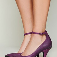 Free People Leighton Metal Tip Heel
