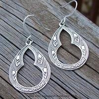 Hideaway - Bohemian Silver Dangle Earrings