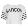 Garcon Crop Top - Jersey Tops - Clothing - Topshop USA