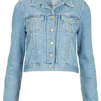 MOTO Vintage Fitted Western - Denim Jackets - Jackets & Coats - Clothing - Topshop USA