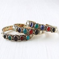 Free People Multi Stone Skinny Cuff