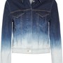 Acne | Stace dégradé stretch-denim jacket | NET-A-PORTER.COM