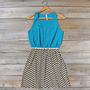 Sow & Seed Dress in Azure, Sweet Women's Bohemian Clothing