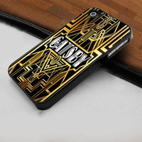 The Great Gatsby Cover - Hard Case Print for iPhone 4 / 4s case - iPhone 5 case - Black or White (Option Please)
