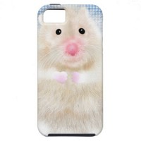 Cute and funny hamster iPhone 5 cases from Zazzle.com