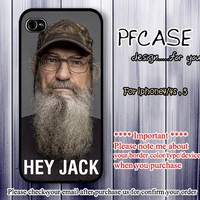 Hey Don't forget me ! I'm Si robertson : Case For Iphone 4/4s ,5