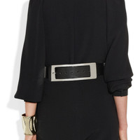 Maison Martin Margiela | Paneled leather waist belt | NET-A-PORTER.COM
